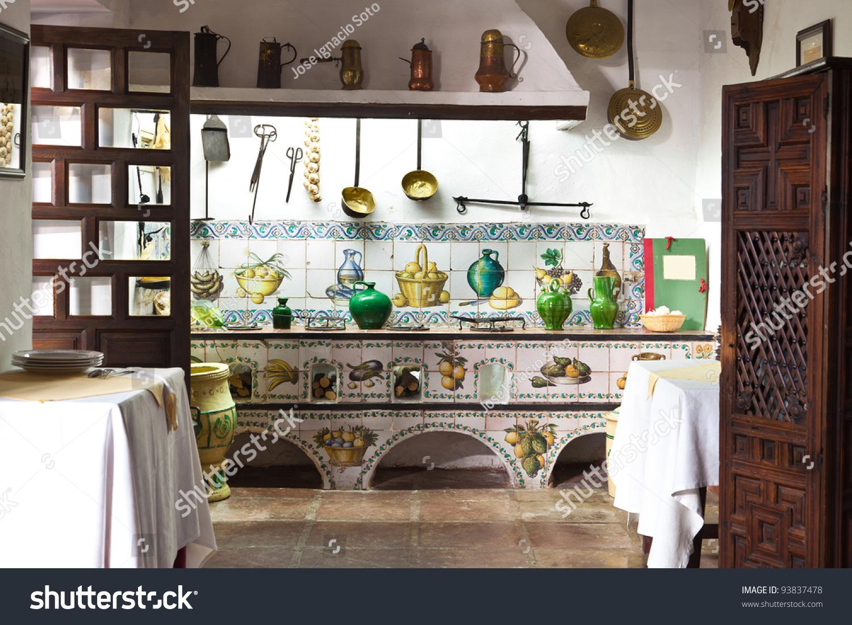Old Kitchen Very Old Kitchen Ancient Utensils Stock Photo 93837478 Shutterstock