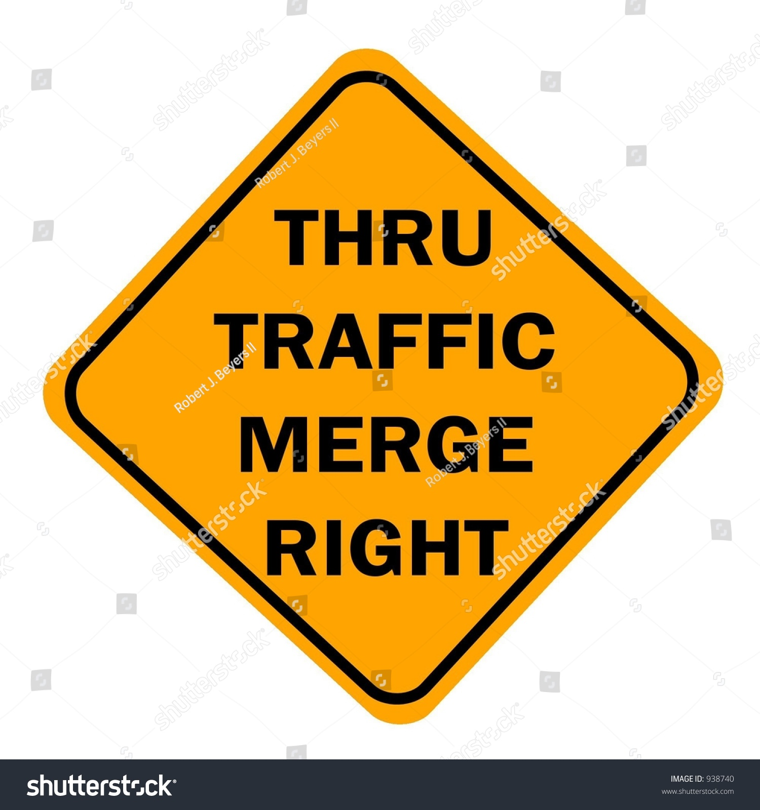 MERGE RIGHT (SYM) - Roll-Up Signs - Online Store