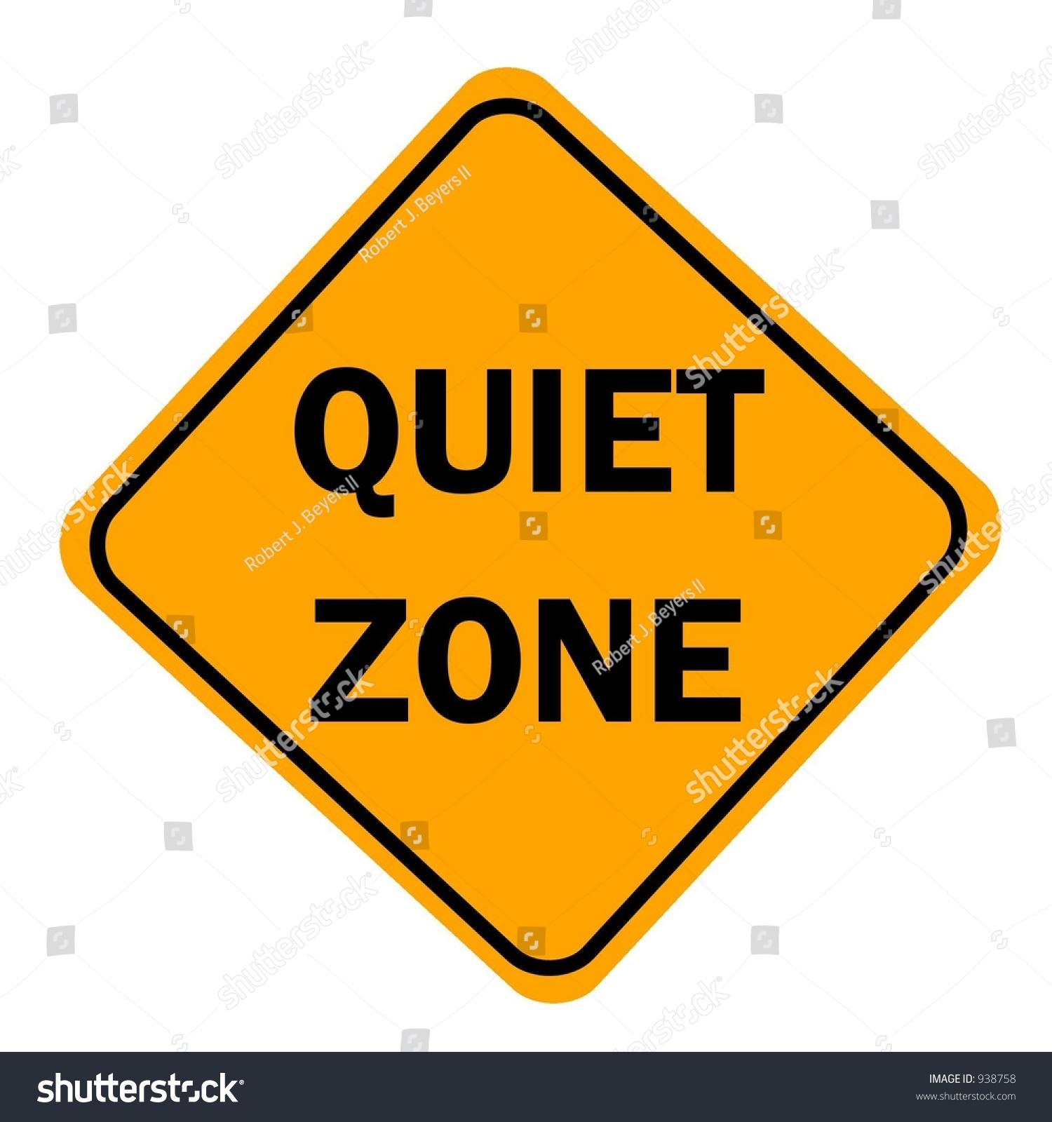 free clipart quiet zone - photo #3