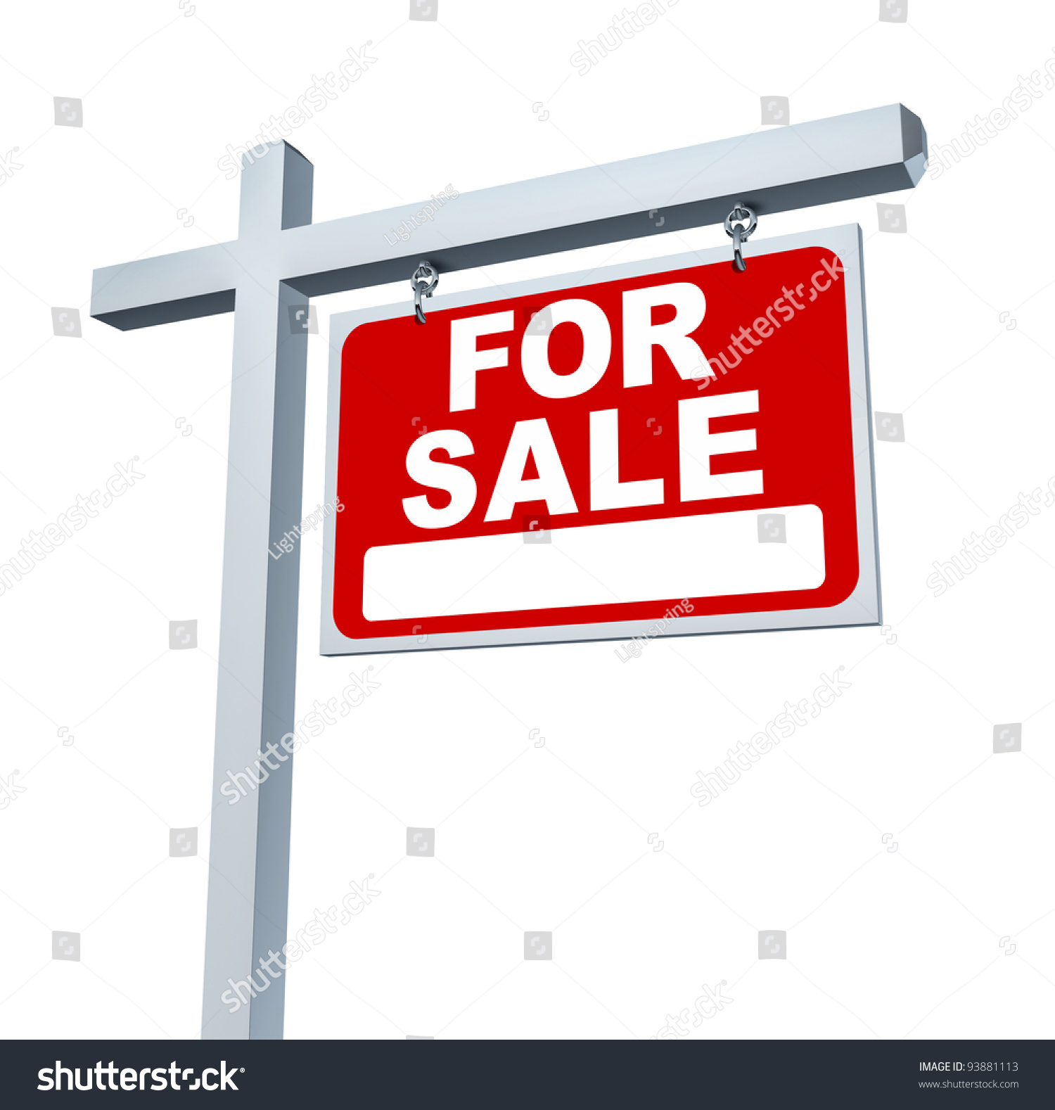 Z Homes For Sale Stock Photo Real Estate Red For Sale Sign