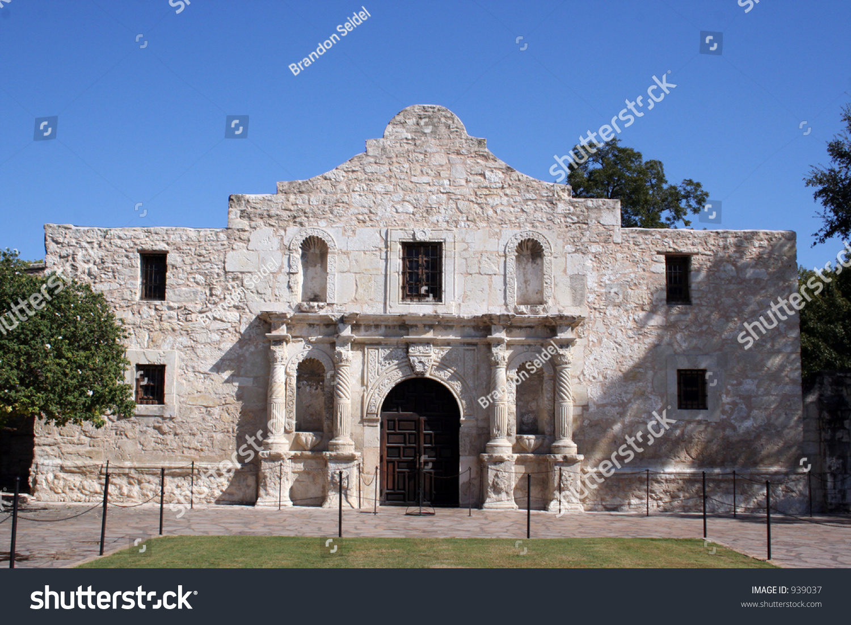 The Alamo In San Antonio, Texas. A Large Piece Of Texas ...