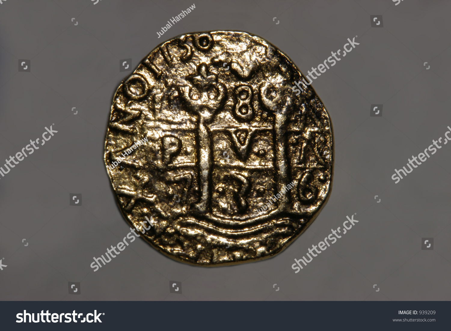 Spanish Doubloonside 1 Stock Photo (Edit Now) 939209