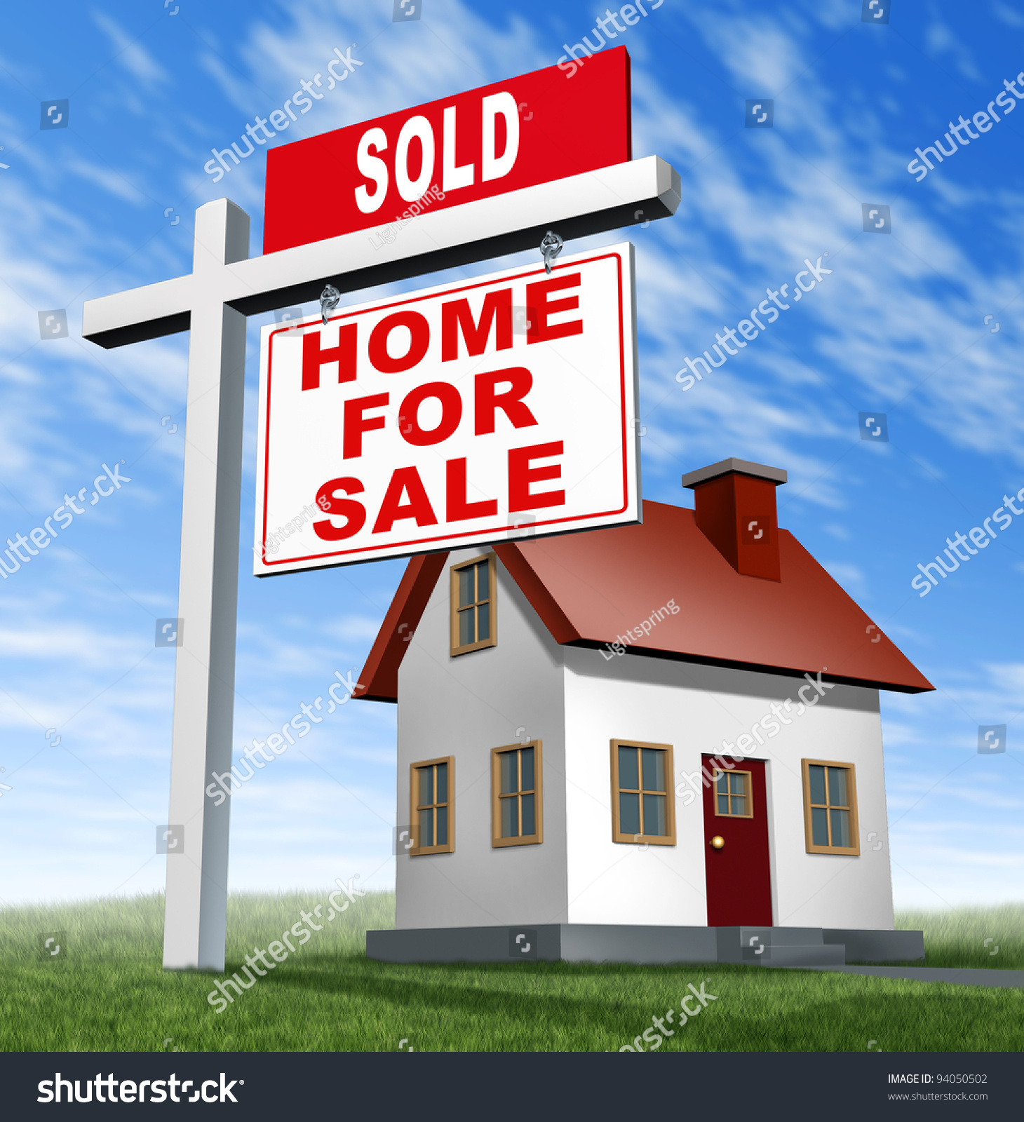 Z Homes For Sale Stock Photo Sold Home For Sale Sign And