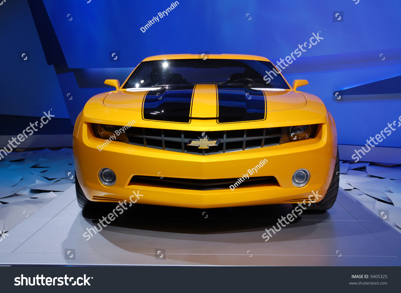 Chevrolet Camaro New Concept Car Detroit Motor Show 2008