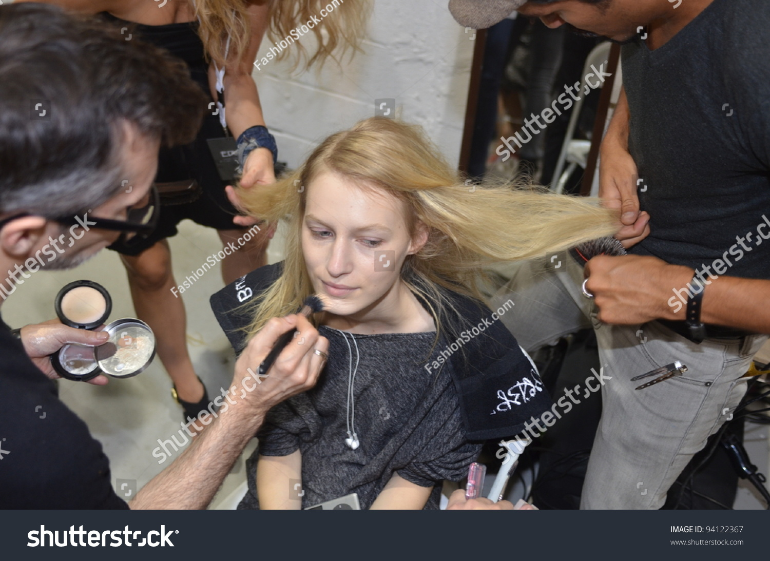 Beauty backstage edun spring