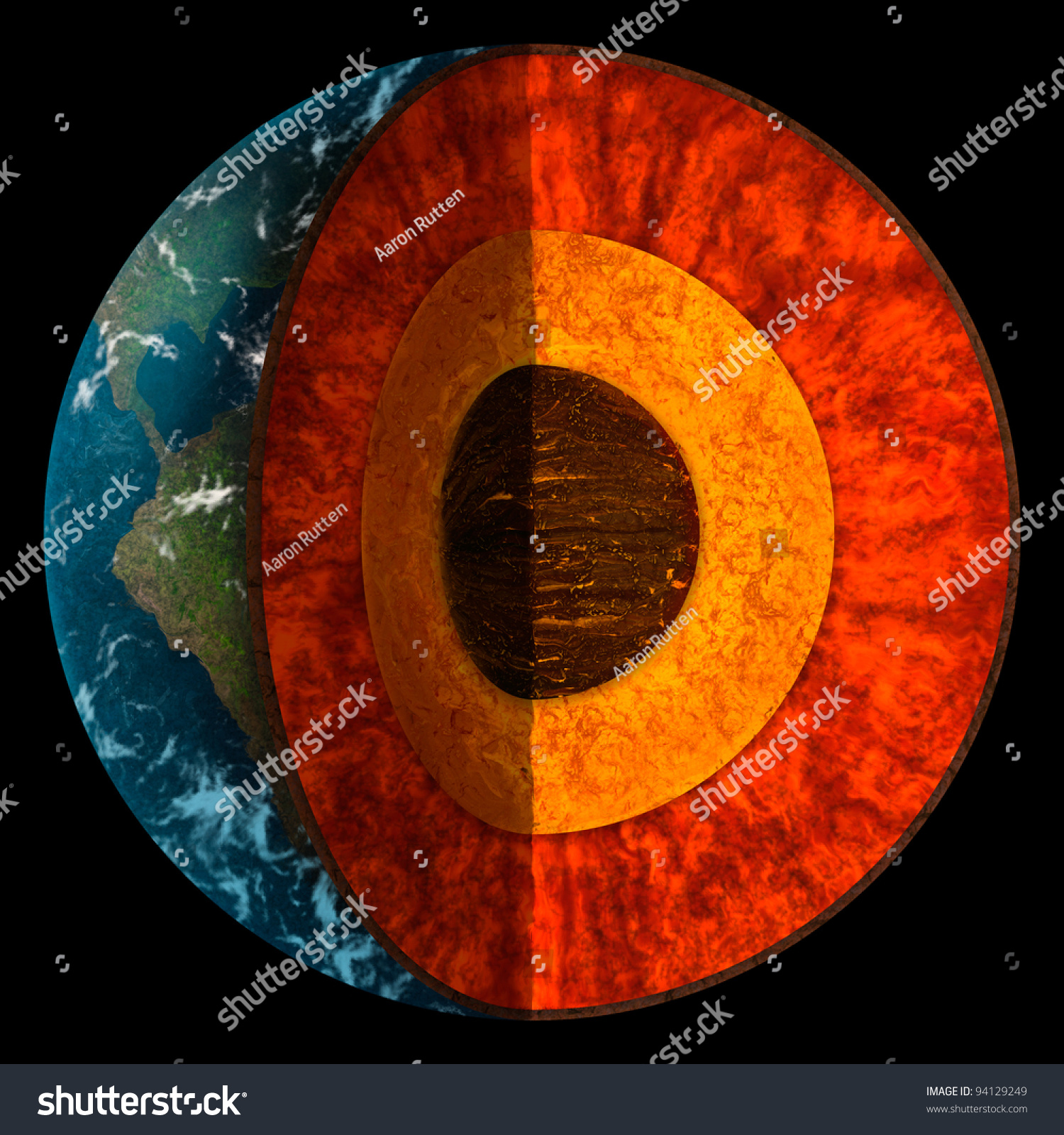Earth Cross Section Now 4 28 Images Earth S Interior Mr Mulroy S Earth Science The Planet