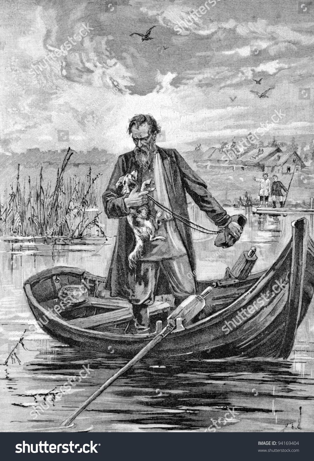 Why Gerasim drowned Mumu 6