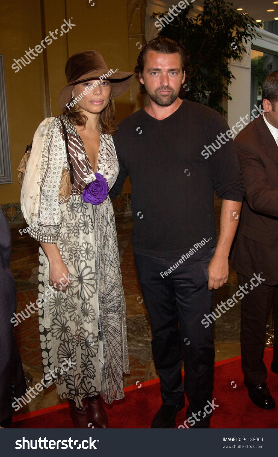 Actor Angus Macfadyen & Girlfriend At The Los Angeles ...