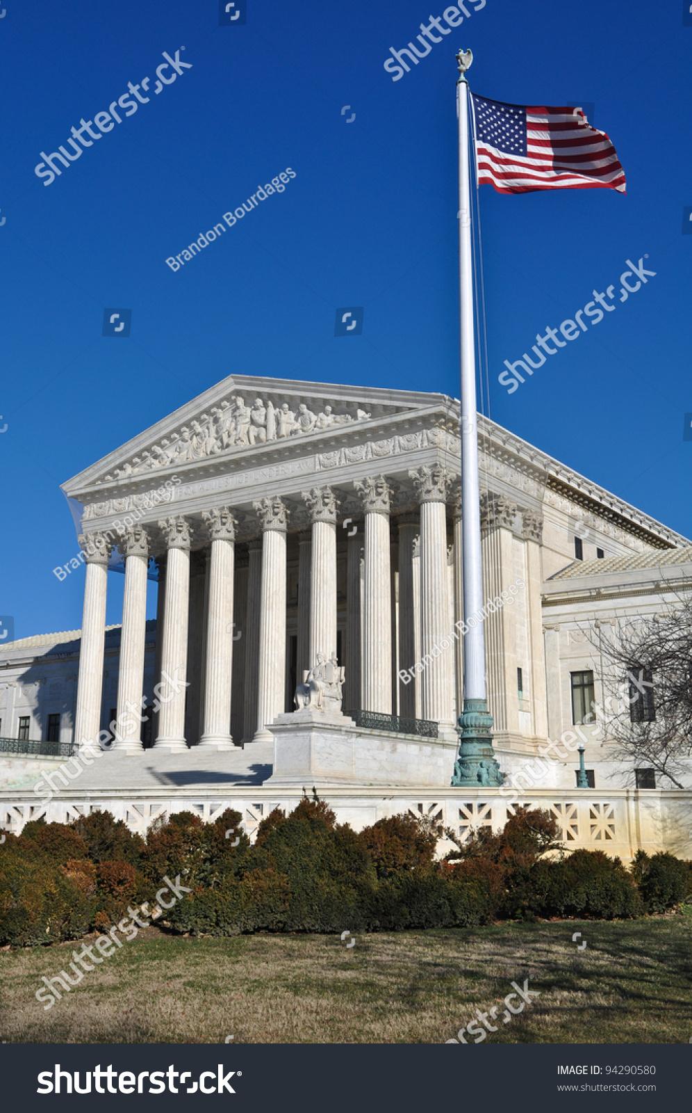 Supreme Court United States Stock Photo 94290580 ...