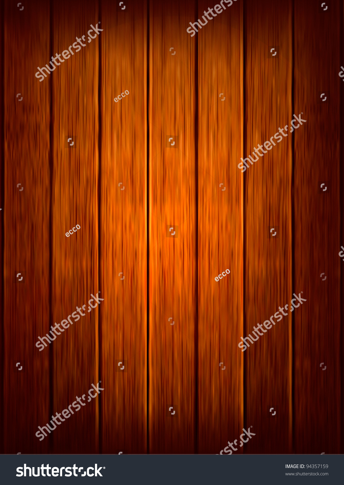 Dark Wood Background. Vector Illustration - 94357159 ...
