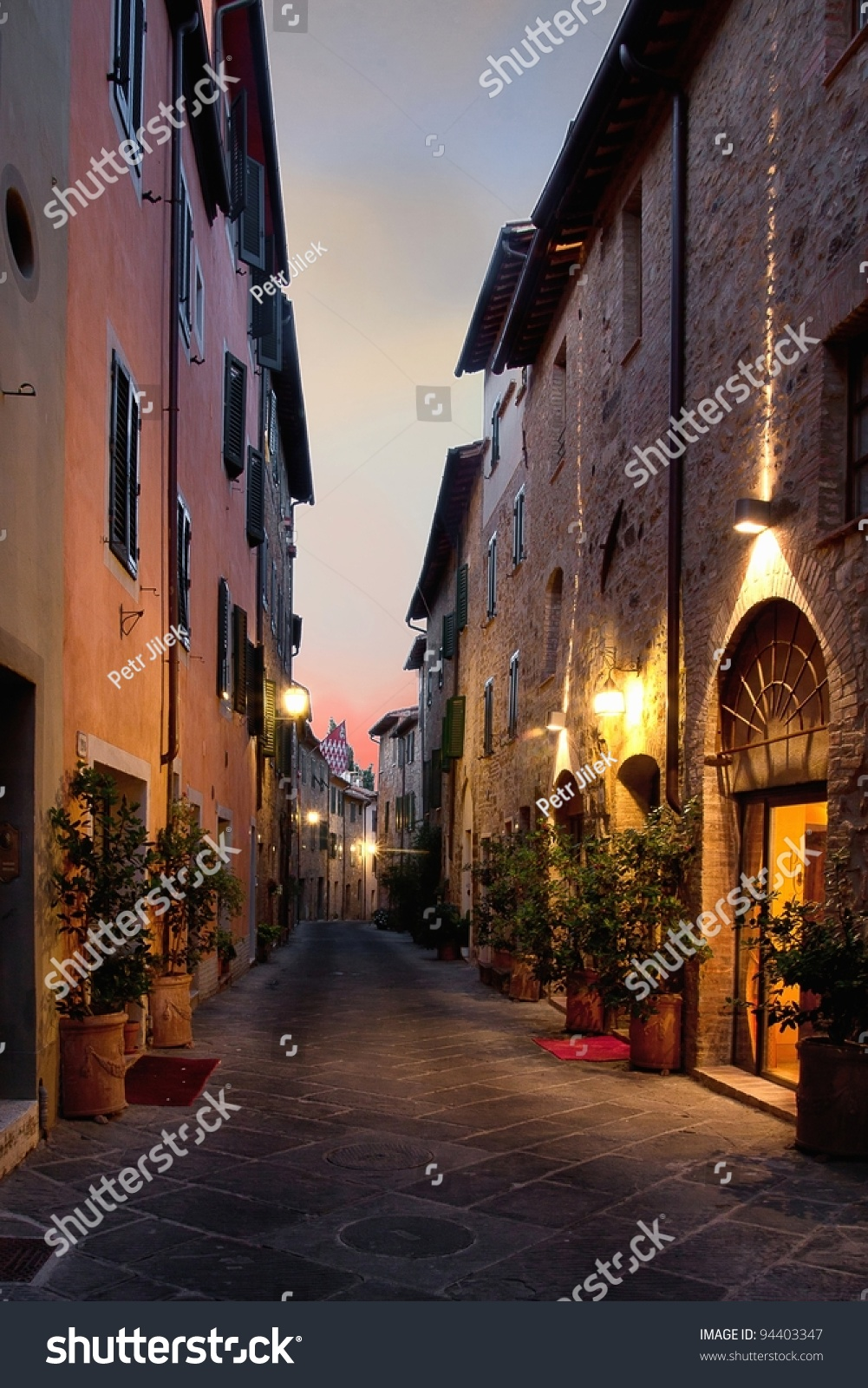 San Quirico d'Orcia Italy  city pictures gallery : San Quirico D'Orcia An Ancient Town In The Italian Tuscany Stock Photo ...