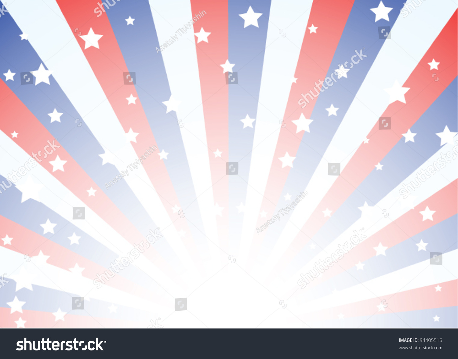 background featuring red white blue stripes stock vector