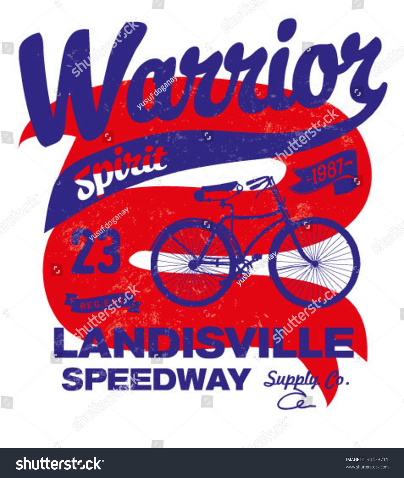 Shirt design printing - T Shirt Design Printing Bicycle Label