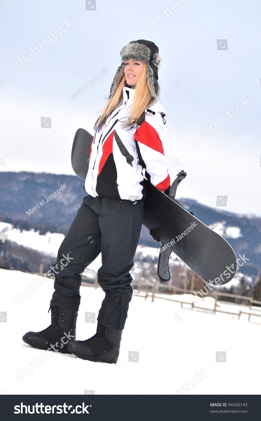 Snowboarder chick loves cock - 1 2