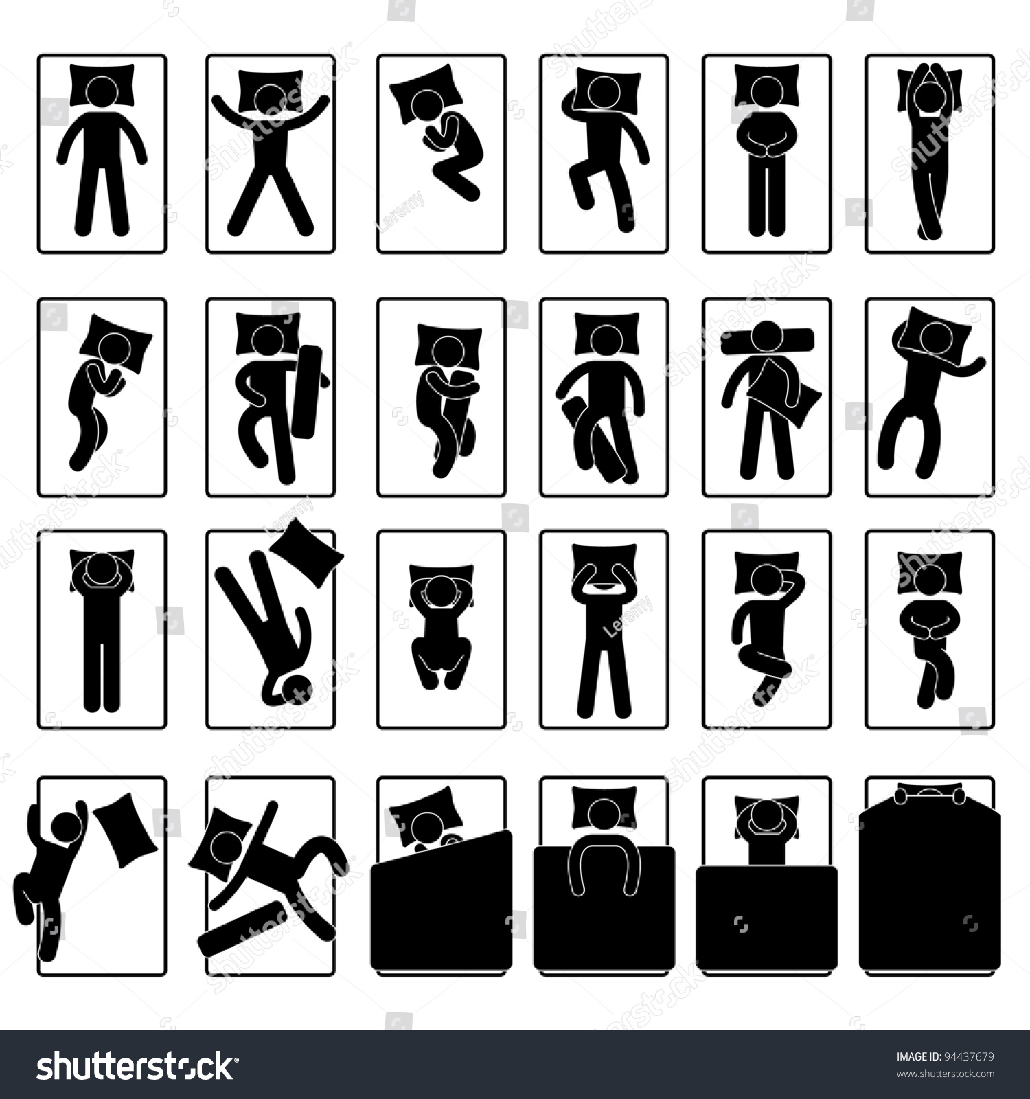 Damn Fresh Pics: What Your Favorite Sleeping Pose Can Tell About You