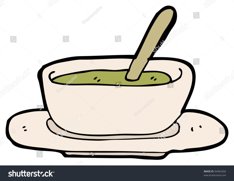 Soup Bowl Cartoon Stock Photo 94463266 Shutterstock