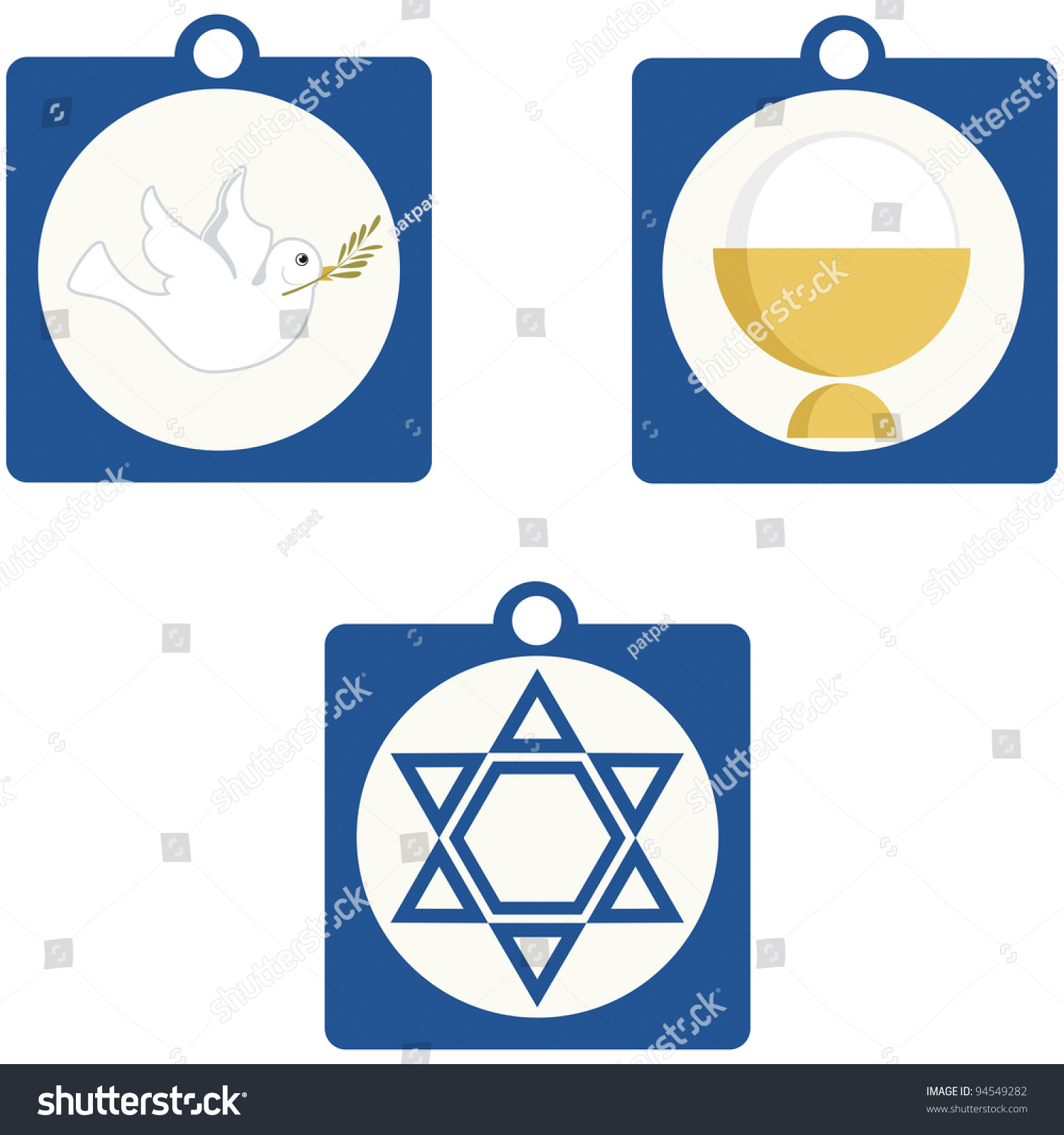 Jewish sacred symbols gallery symbol and sign ideas jewish sacred symbols gallery symbol and sign ideas christian jewish religious symbols stock vector 94549282 christian biocorpaavc
