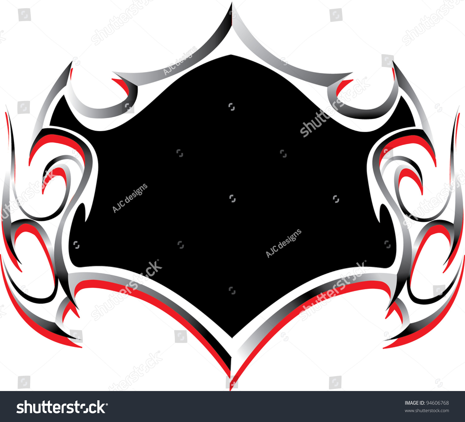 tribal shield stock vector 94606768 shutterstock. Black Bedroom Furniture Sets. Home Design Ideas
