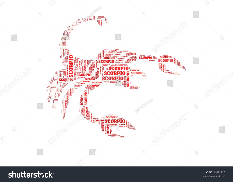 Text cloud symbol scorpio stock illustration 94632226 shutterstock text cloud symbol of scorpio biocorpaavc Gallery