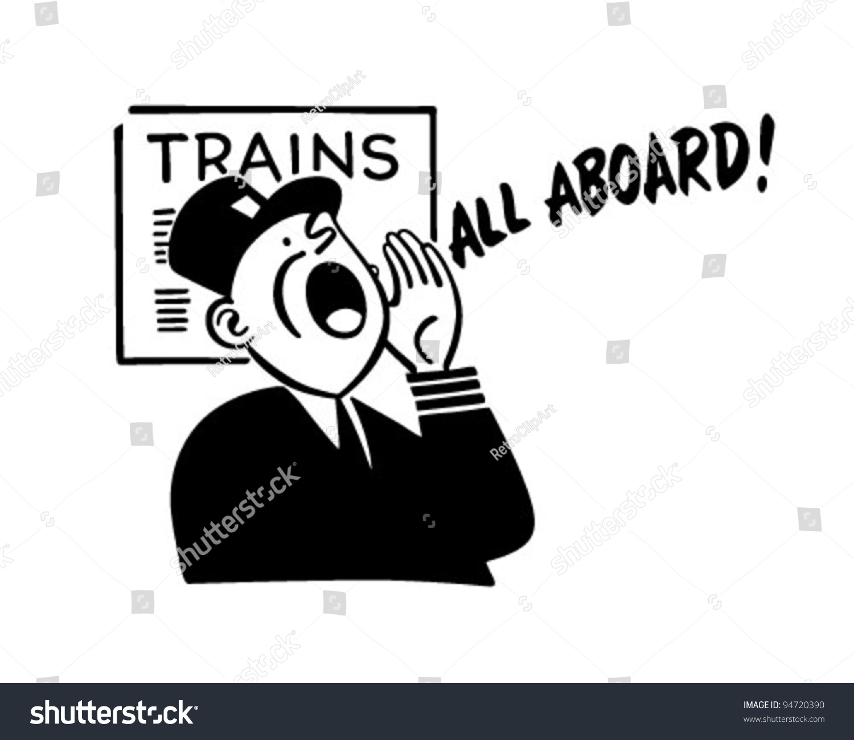 clipart of train conductors - photo #8