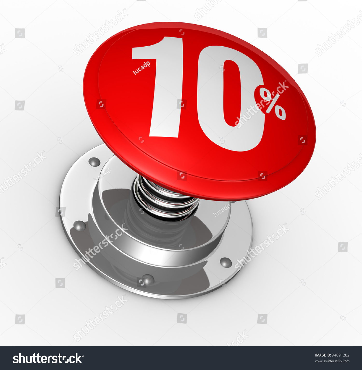 One button number 10 percent symbol stock illustration 94891282 one button with number 10 and percent symbol 3d render biocorpaavc