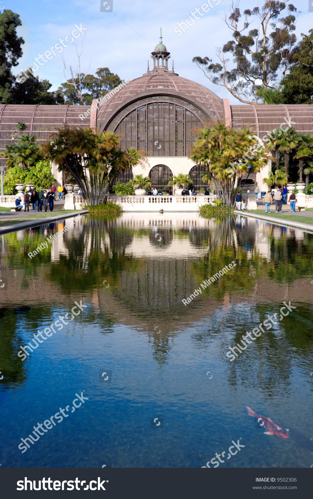Botanical Garden Balboa Park San Diego Stock Photo 9502306 Shutterstock
