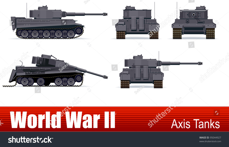 German Tanks of World War II Enthusiast Color Michael
