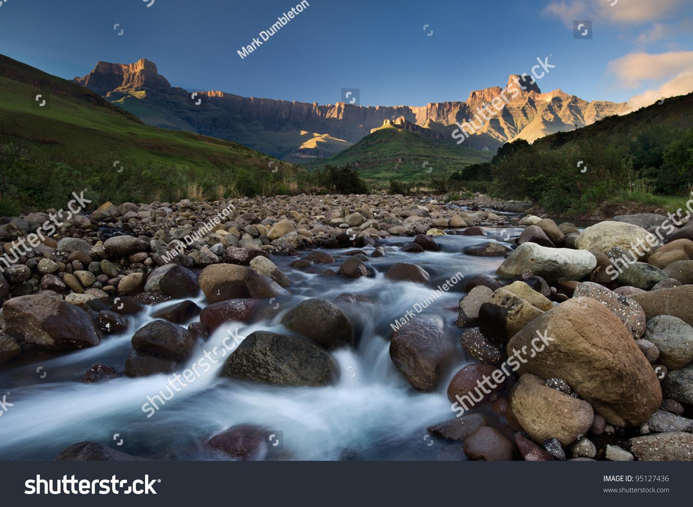 Tugela River The Tugela Rive...