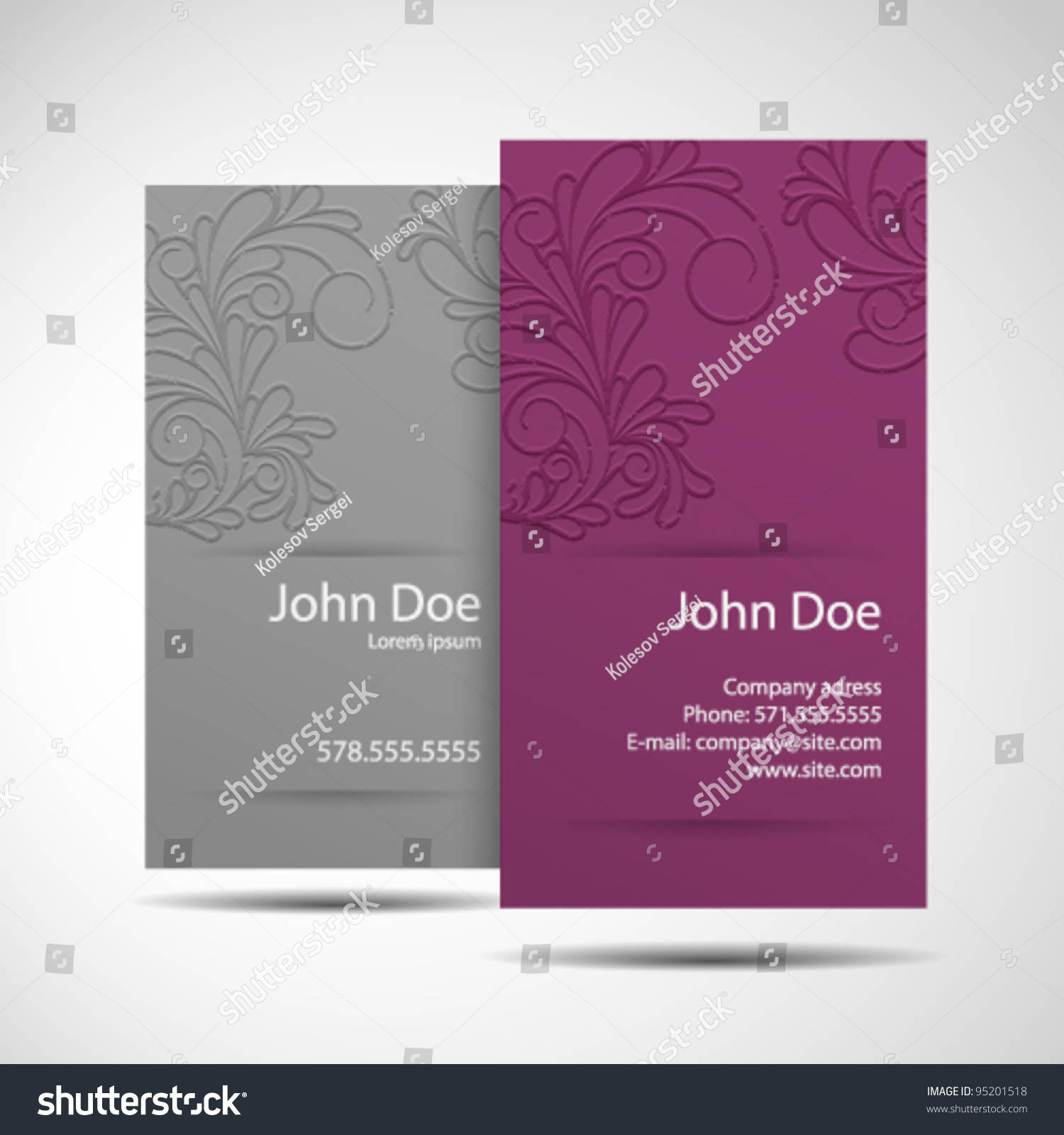 Business card monochrome stylish modern business stock vector business card monochrome stylish and modern business card magicingreecefo Images