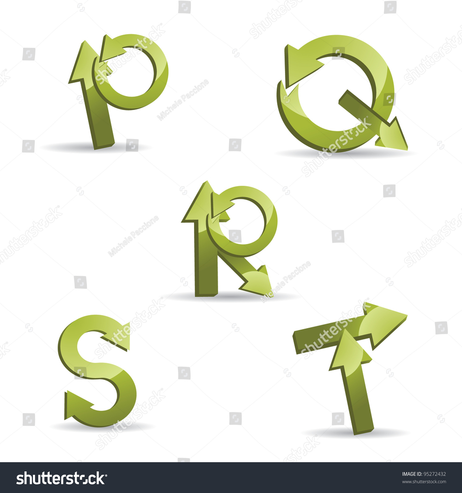 letters p q and r stock photography image 15830572 abstract letter p q r s t logo symbol icon set eps 8 552
