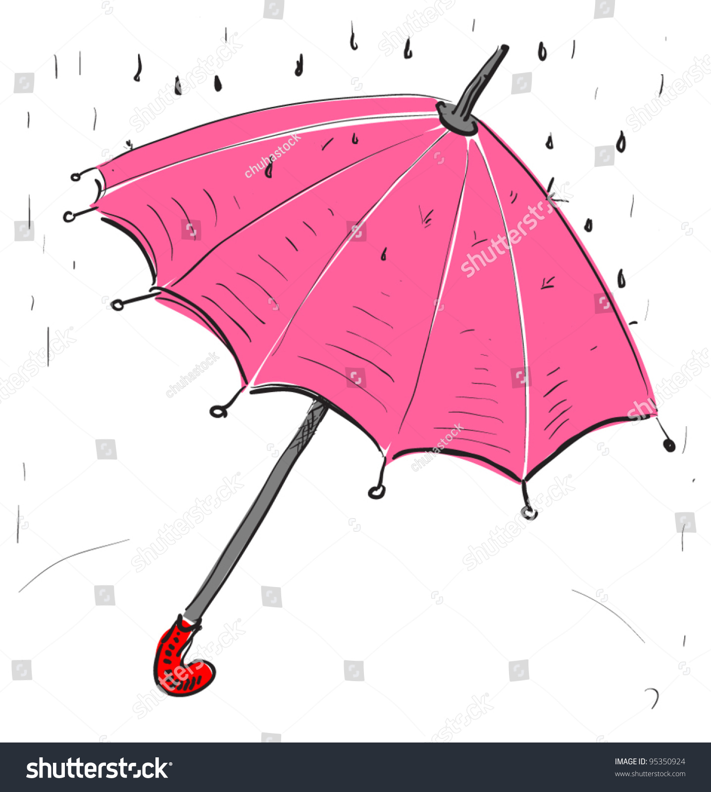 Cute Umbrella Drawing How To Draw A Japanese Anime Girl