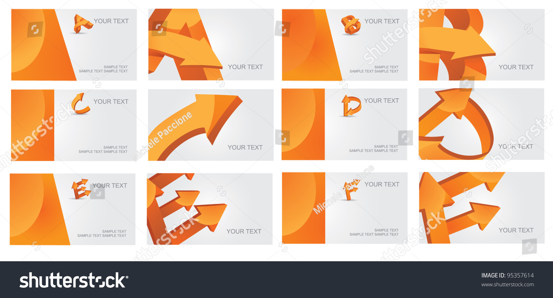 Abstract Letter B C D E Stock Vector 95357614 - Shutterstock