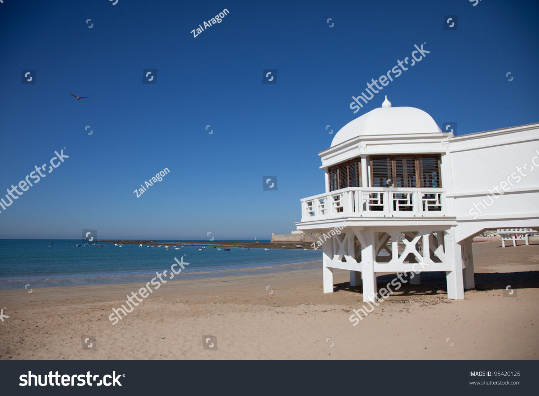 Cadiz Beach Andalusia Stock Photo 95420125 Shutterstock # Muebles Gayro Cadiz