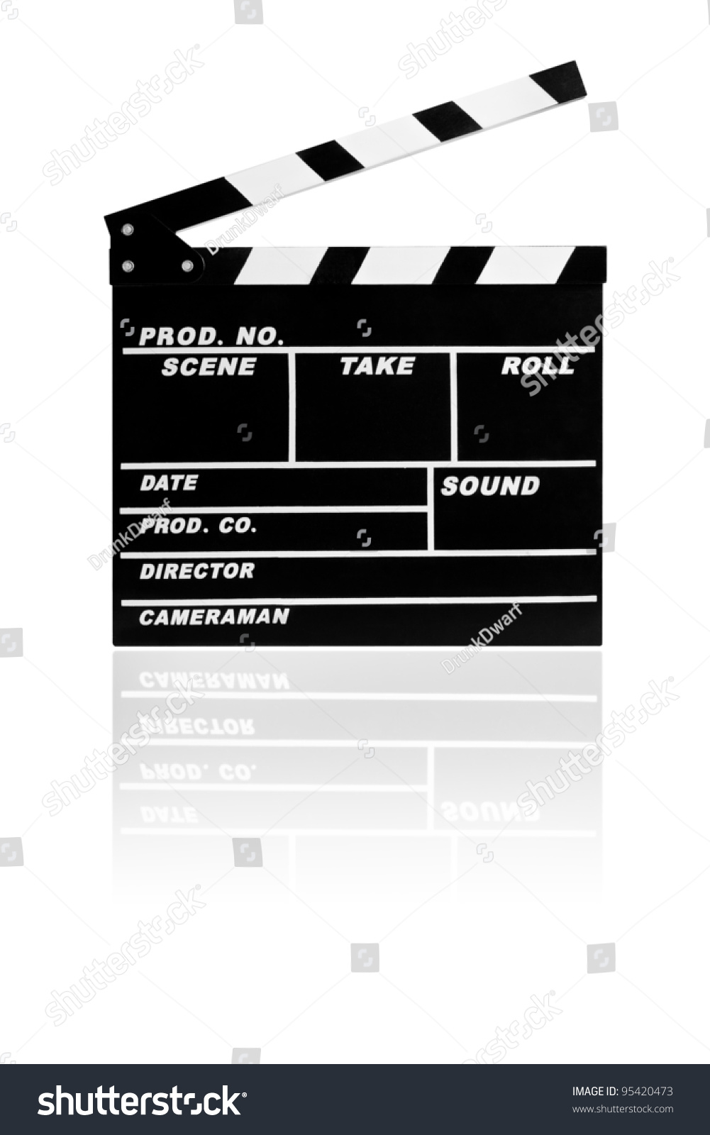 blank film slate - photo #1