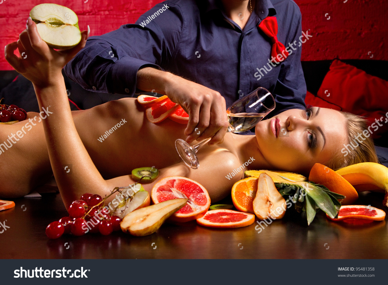 Секс игры со сливками 11 фотография