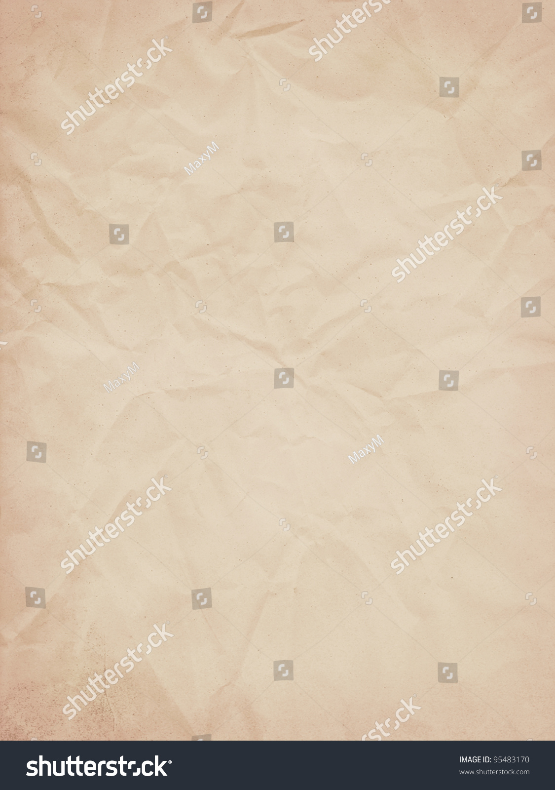 old paper template stock illustration 95483170 - shutterstock, Powerpoint templates