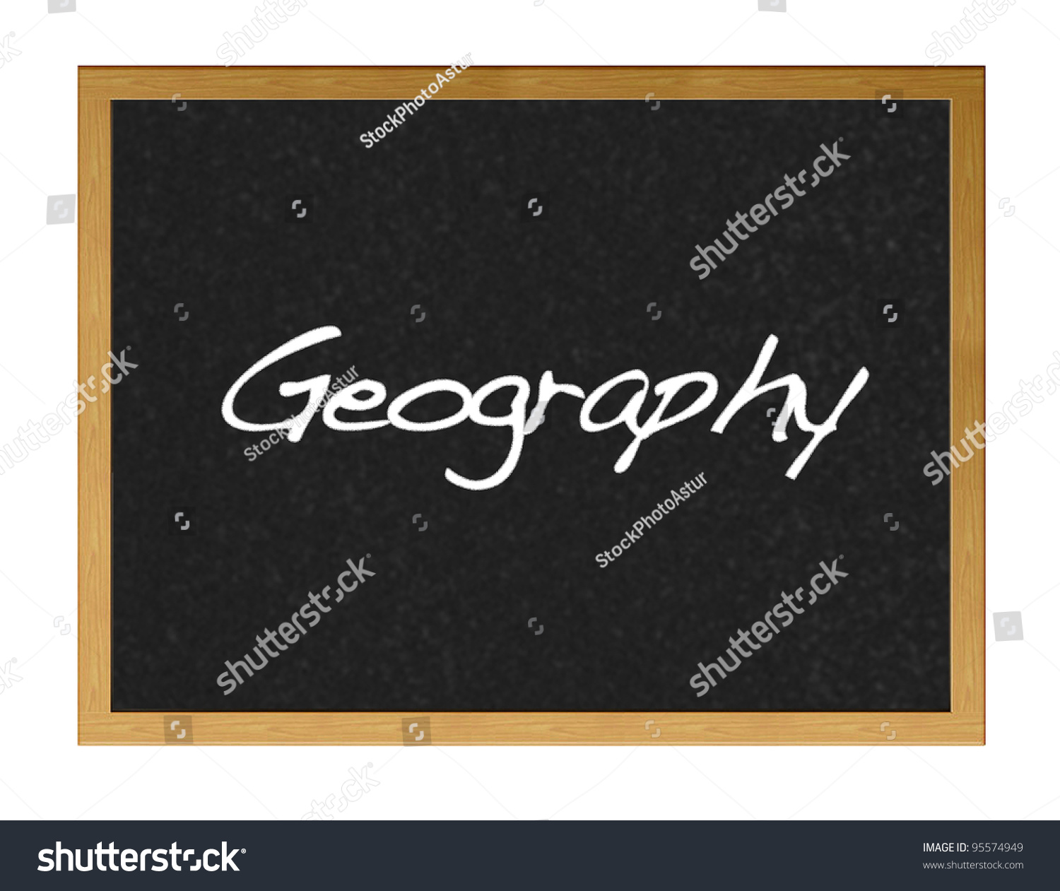 Deciding stock illustrations royalty free gograph - Blackboard With The Word Geography