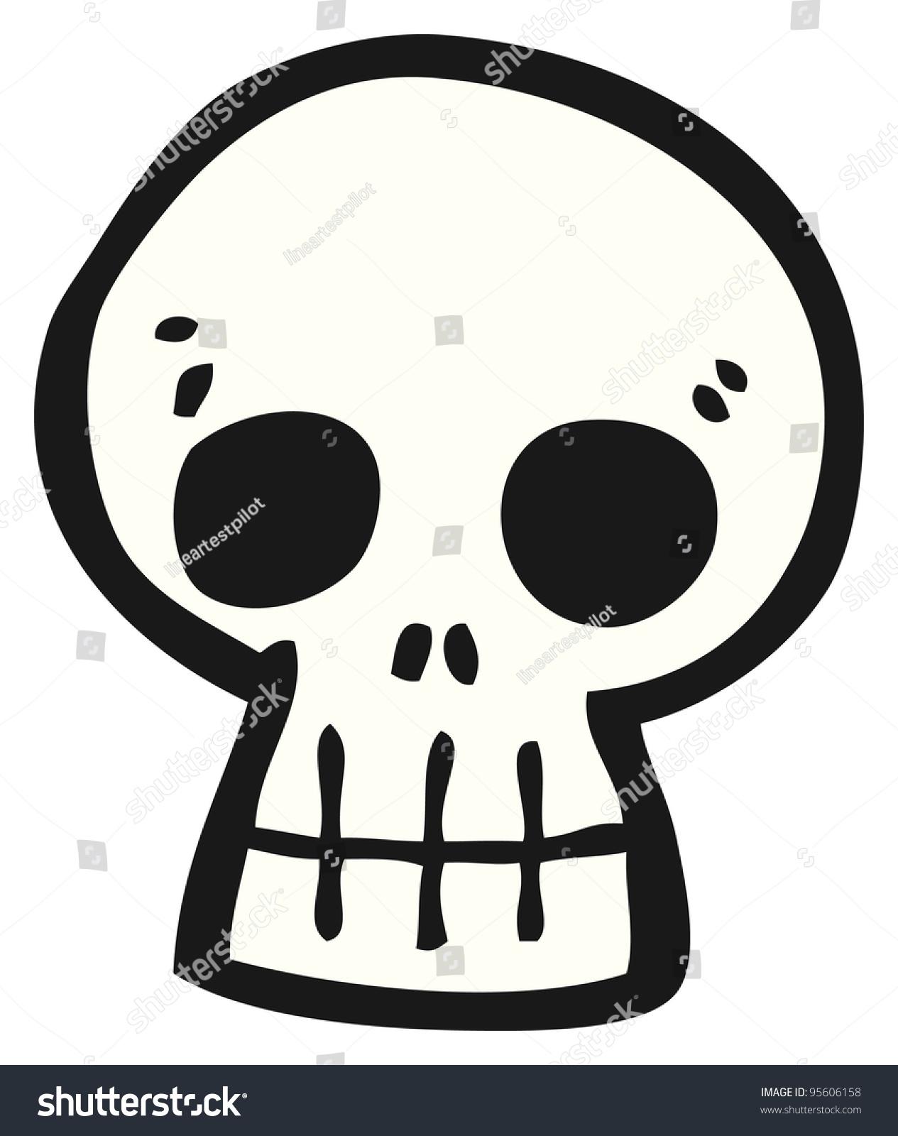 cartoon skull stock illustration 95606158 shutterstock