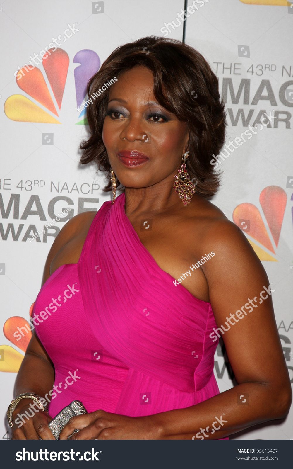 LOS ANGELES - FEB 17: Alfre Woodard arrives at the 43rd NAACP Image Awards  at the Shrine Auditorium on February 17, 2012 in Los Angeles, CA.