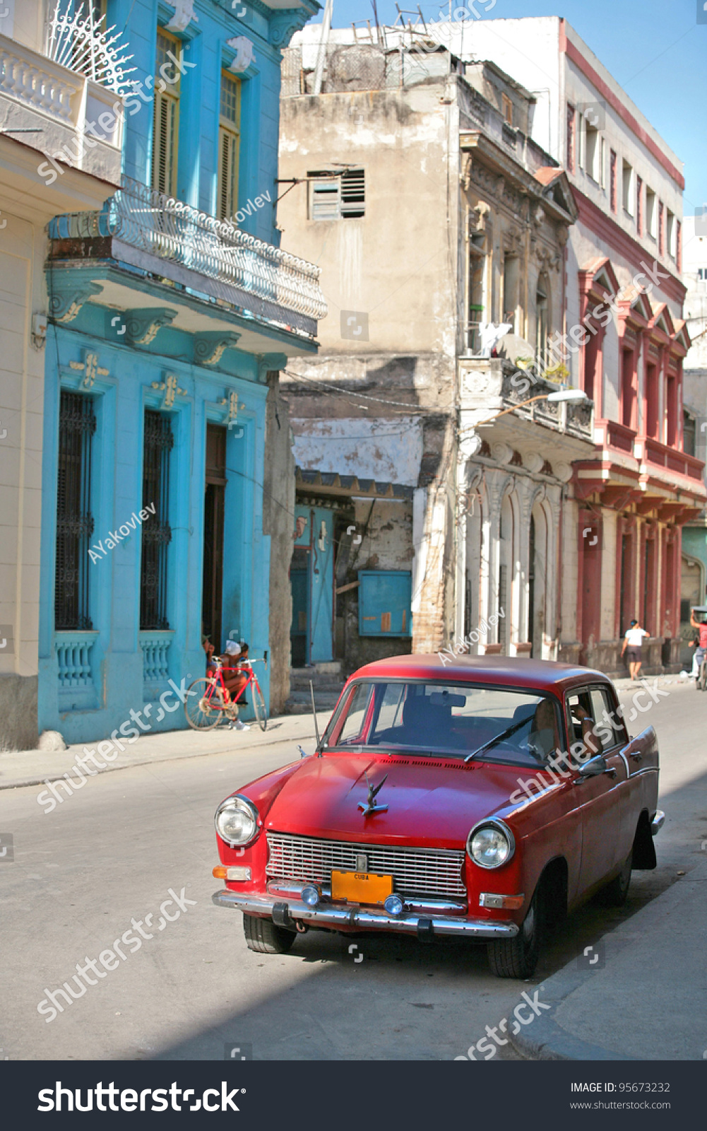 HAVANA 25 MARCH Vintage Car Cuba Stock Photo (Safe to Use) 95673232 ...