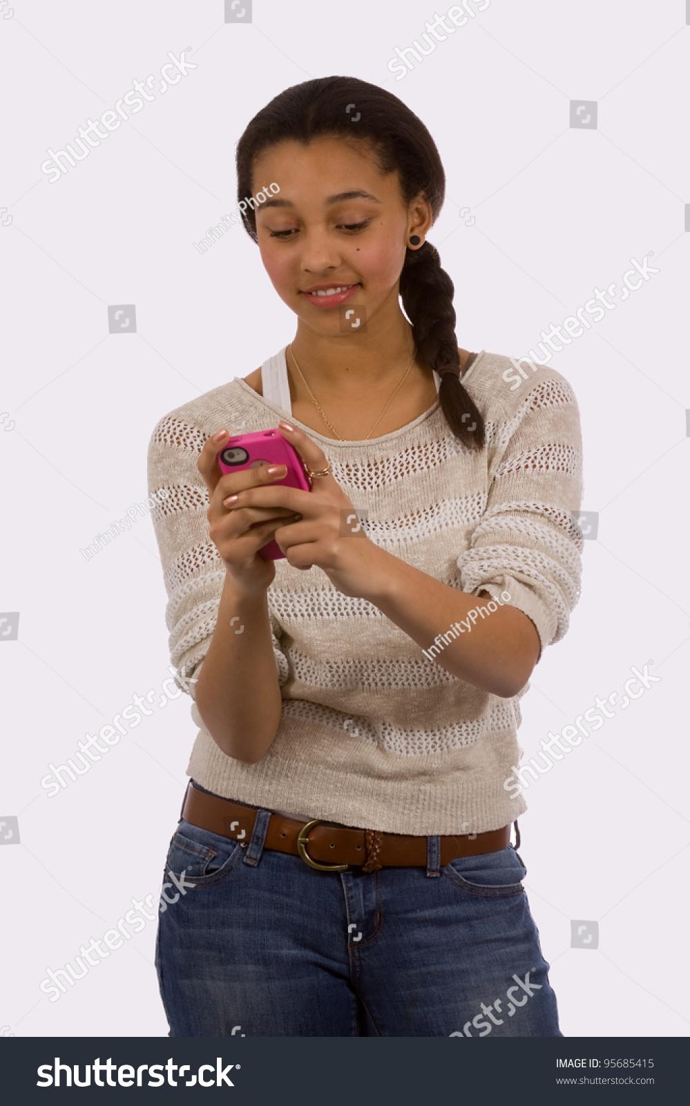 Teen girls facialized #15