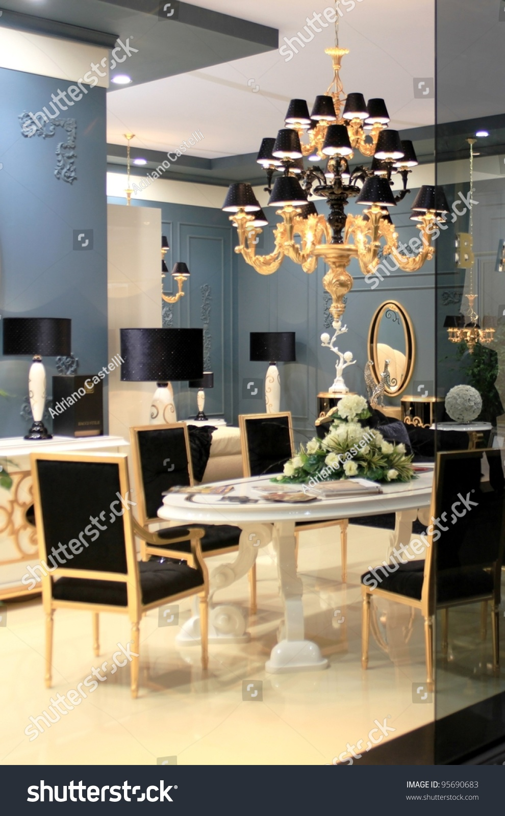 Milan april 15 interior design solutions stock photo for Interior design solutions