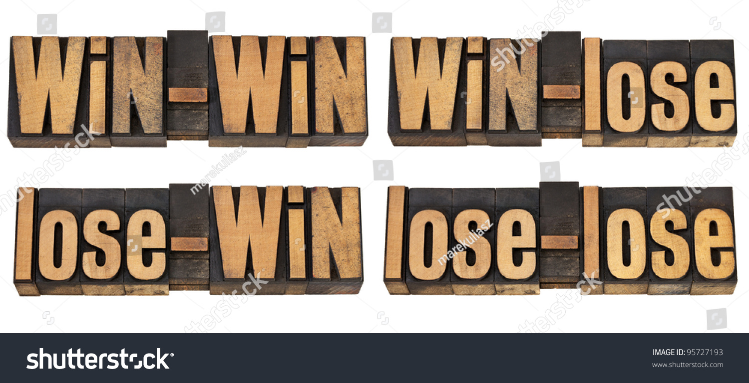 win lose outcome in a negotiation A win-win negotiation is a careful exploration of both your own position, and that of your opposite number, in order to find a mutually acceptable outcome that gives you both as much of what you want as possible if the losing party needs to fulfill some part of a deal, they may decide to become uncooperative and awkward.