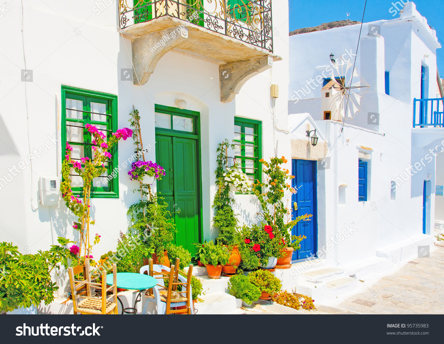 Old beautiful traditional house in chora the capital of amorgos island - Beautiful Stone Made Road With Old Traditional Houses In Chora The Capital Of Amorgos Island In Preview Save To A Lightbox