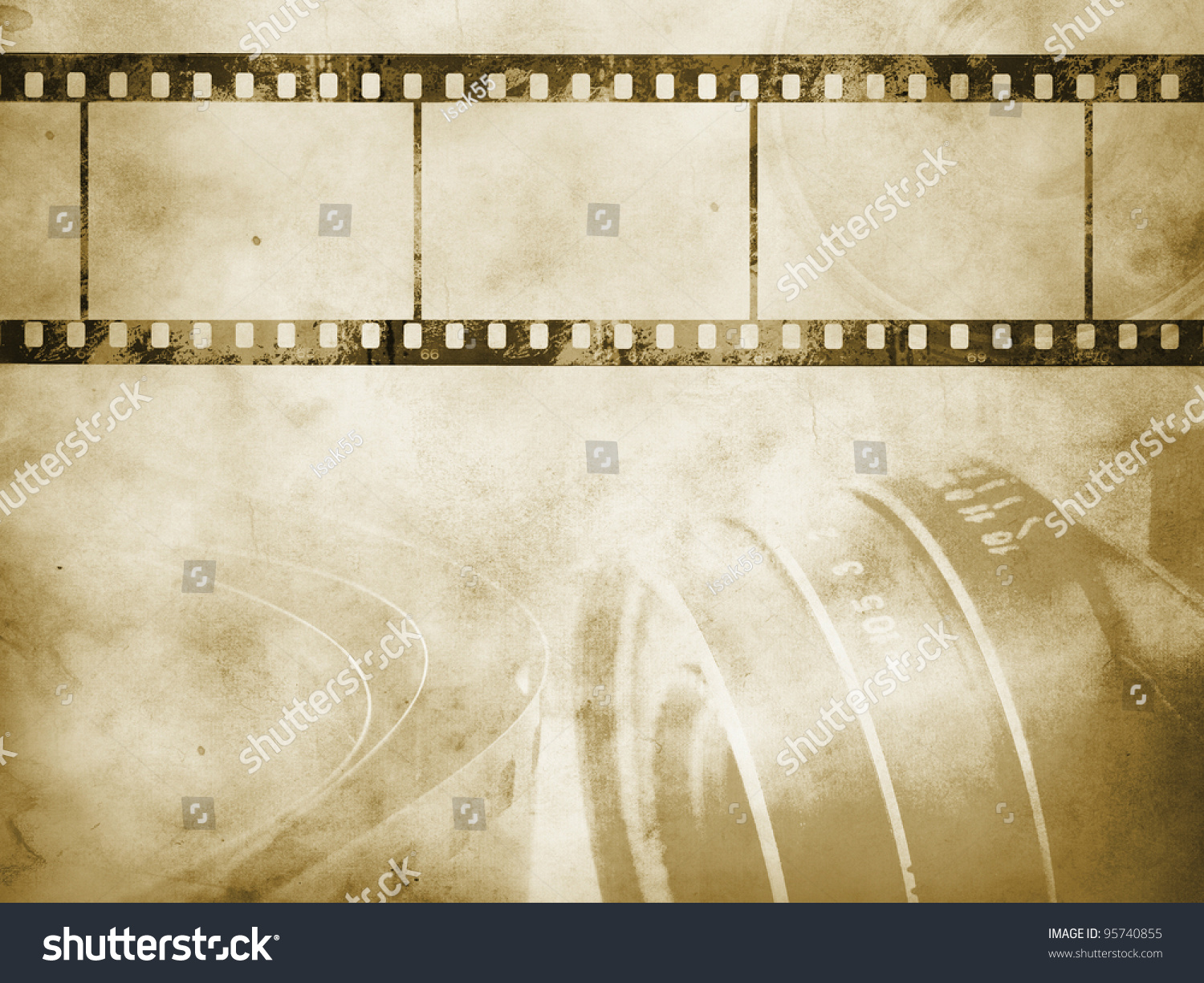 Vintage Background Retro Camera Negative Film Stock Photo ...