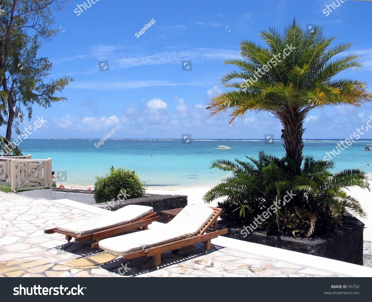 Near Swimming Pool By The Sea Stock Photo 95750 Shutterstock