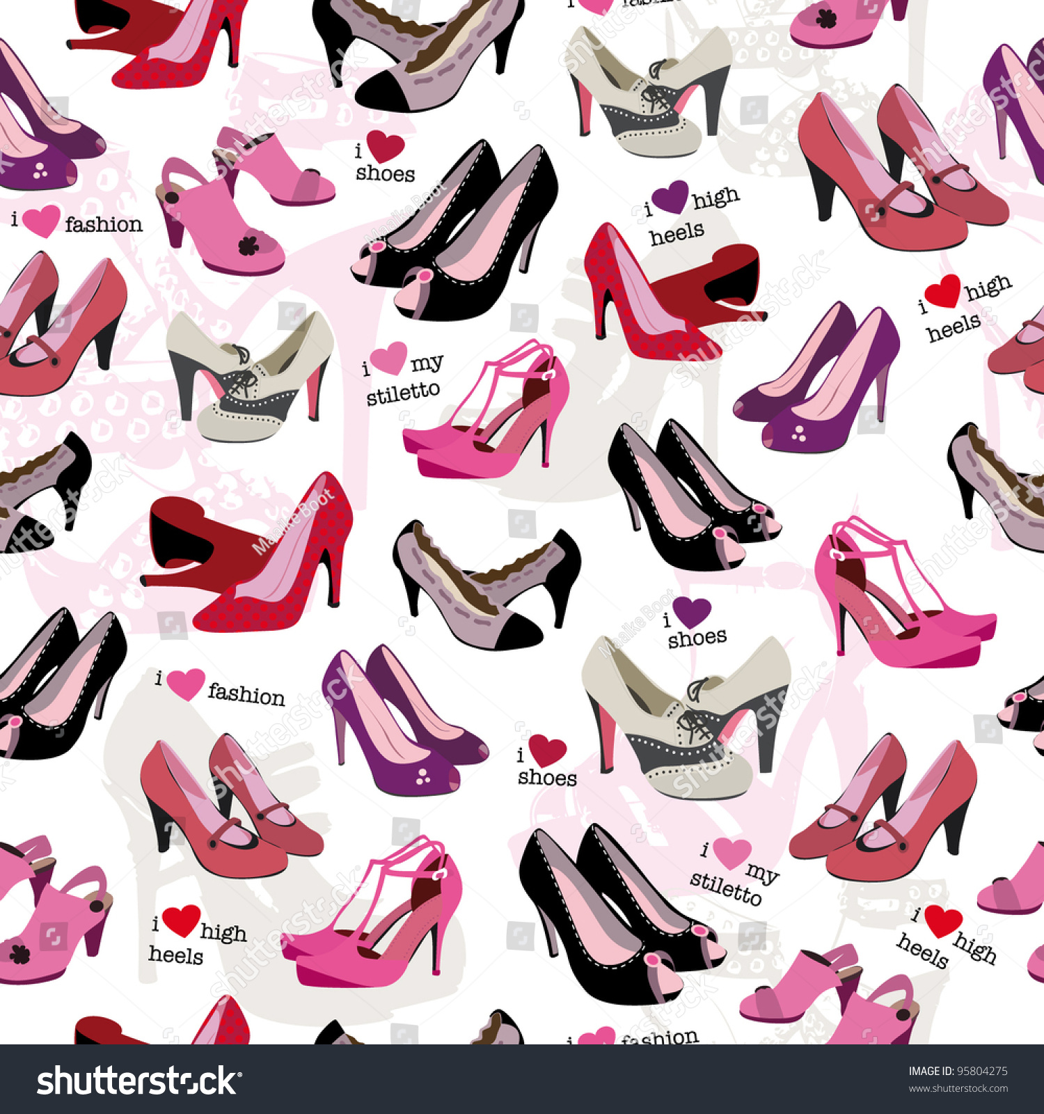 Different High Heels Shoes