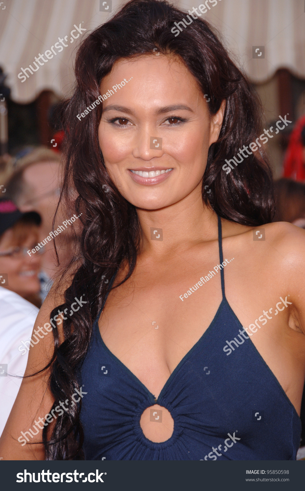 Cum on chest tia carrere