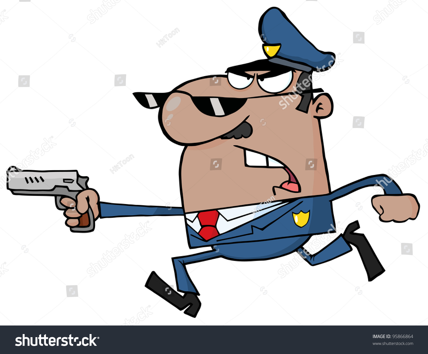 African American Police Officer - 274.0KB