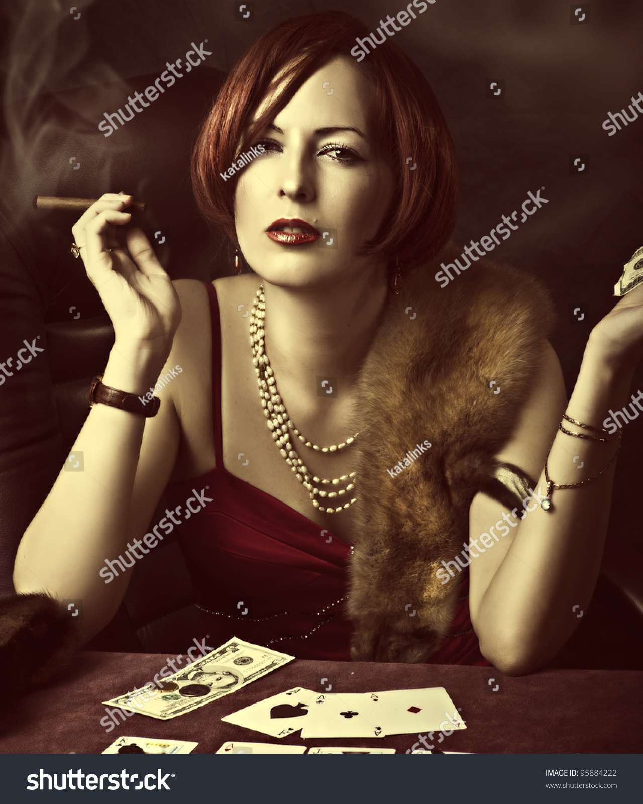 clit burn poker genitals